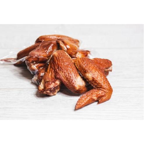 Домашние деликатесы: крылышки горячего копчения