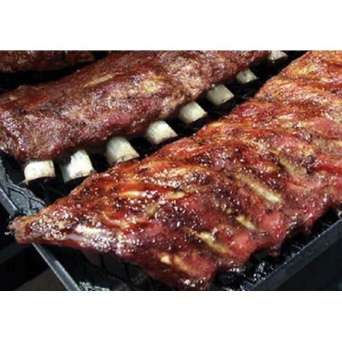 Как сделать вкусные копченые свиные ребра?